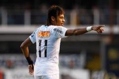 Neymar, algoz do Coxa em 2012