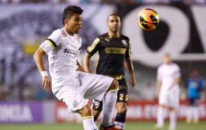 Gabriel: paciência que ele vai render (Ricardo Saibun/Santos FC)