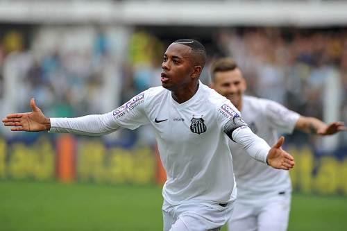 Robinho marcou, mas não foi suficiente para o Santos vencer o Sport (Ivan Storti/Santos FC)