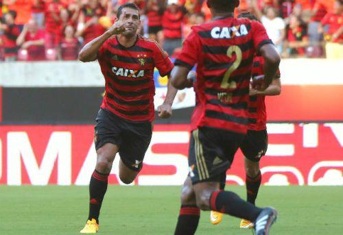 Diego Souza é desfalque no Sport (Foto: Site do Sport)