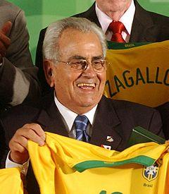 Zito, eterno capitão do Santos e da seleção brasileira
