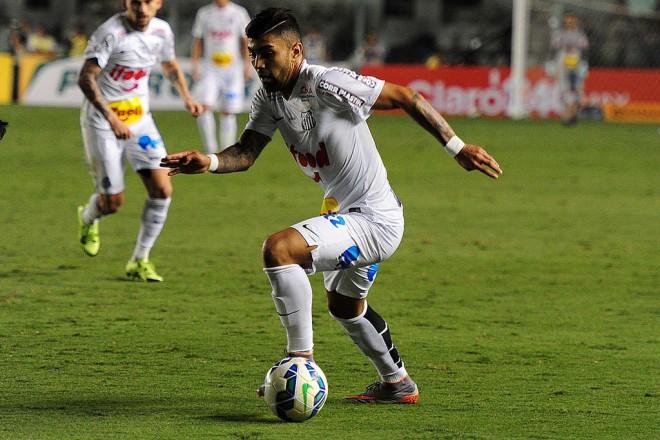 Gabriel fez o primeiro do Santos e mostrou mais uma vez importante papel tático (Foto: Ivan Storti/Santos FC)