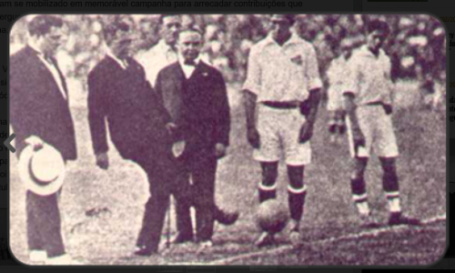 Vasco X Santos em 1927