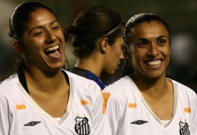 marta e cristiane futebol feminino