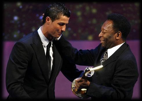Gols de Cristiano Ronaldo e Pelé