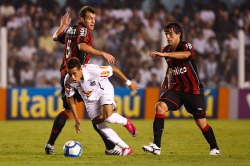 Neymar contra Atlético-PR